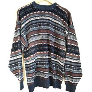 Vintage Canadian made oversized knit sweater Large